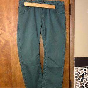 Levi's bluish green jeans